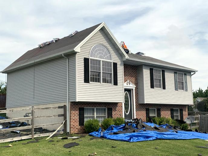 Roof Replacement in Littlestown PA by Superior Services of PA & MD