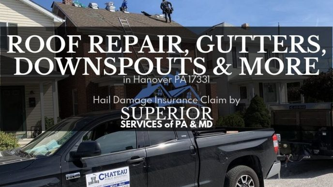 Roof Repair in Hanover PA 17331 new roof replacement by Superior Services of PA & MD