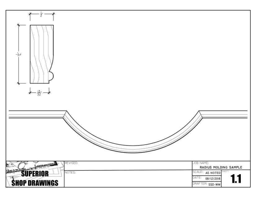 Radius Molding - Neon Profile