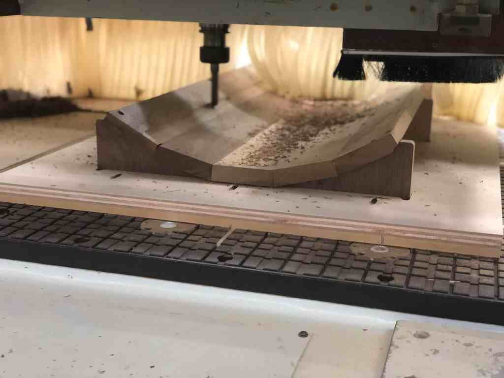 CNC Machining Back of Panel