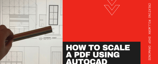 Scale a PDF Using AutoCAD