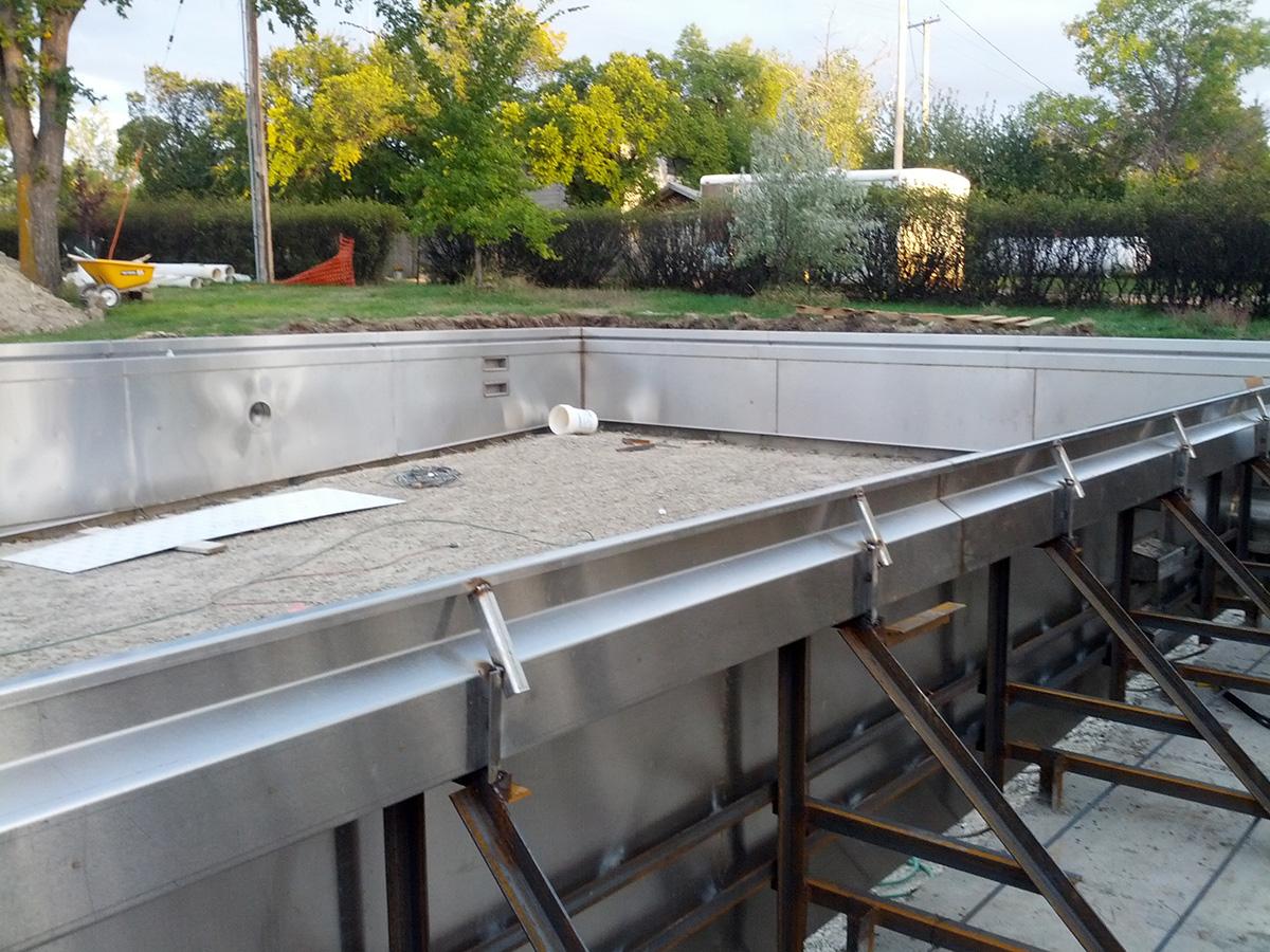 Stainless Steel Spas Amp Pools Gallery