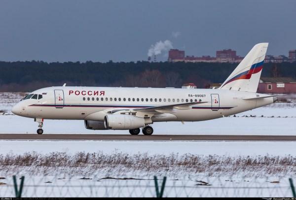 95069 - Sukhoi Superjet 100