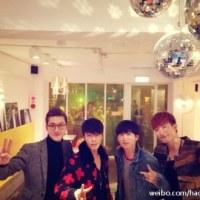 130220 Eunhyuk's Weibo Updates: We Went to Grand Place!!!