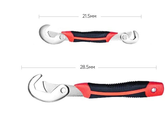 Супер ключи «Стальная хватка» - 2 инструмента вместо целого набора