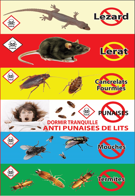 Panel of Services offered by Superkiller Pest Control