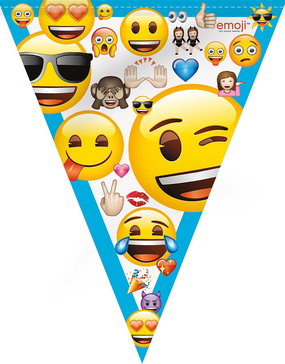 Passord på pc dekorasjonsett 7 deler emoji