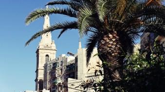 Eine der zahlreichen Kirchen in Malta in Valetta