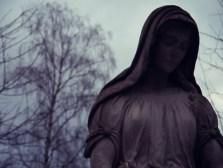 Mainzer Hauptfriedhof - Statuen