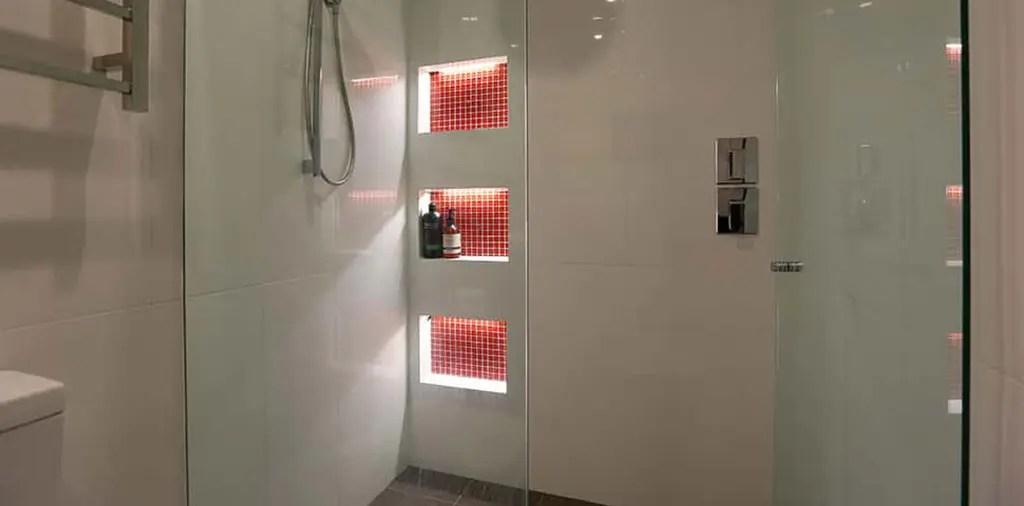 shower niche lighting superlight
