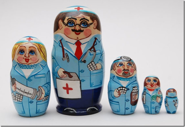 pouppes russes medicales