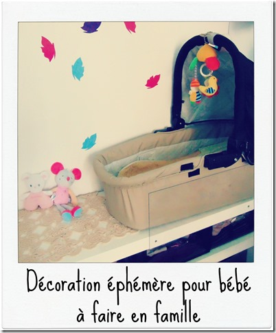 decoration pour bebe faite maison