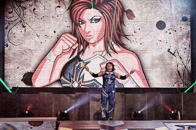 Ayako Hamada / Imagen cortesía de TNAwrestling.com para Súper Luchas