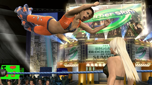 Maryse vs Mickie James - Smackdown vs RAW 2010 / THQ.com