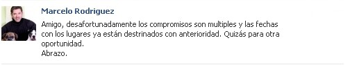 Marcelo Rodriguez / Facebook
