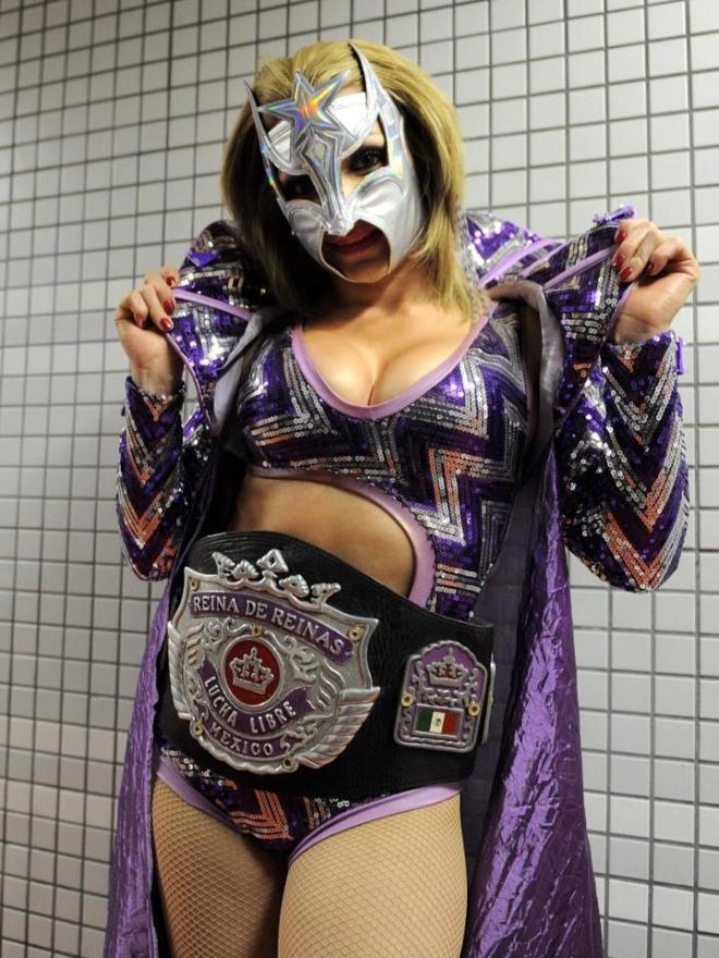 Sexy Star, la Reina de Reinas AAA  en Japón / Photo by Lucha Libre Triple A en Facebook