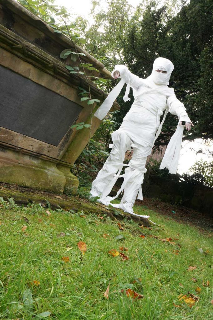 Quick Toilet Roll Mummy costume