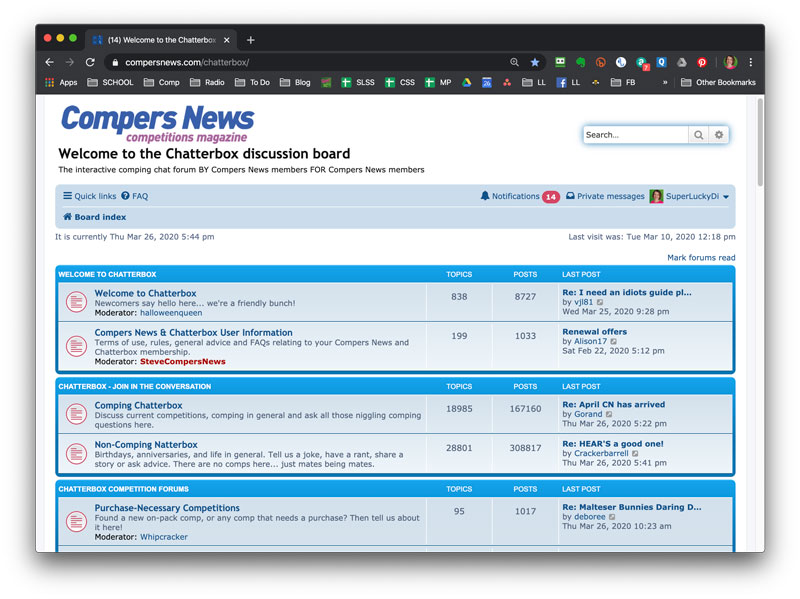 Compers News forum