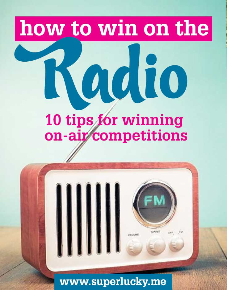 How to win radio competitions | SuperLucky