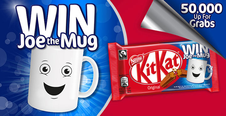 Win 50,000 mugs with KitKat