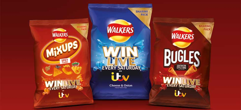 Walkers Win Live every Saturday!