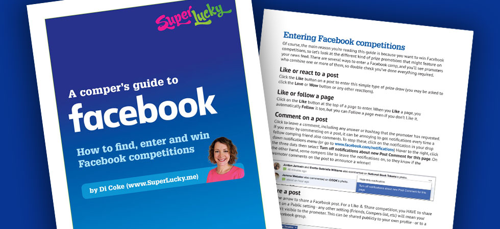 How to find, enter and win Facebook competitions | SuperLucky