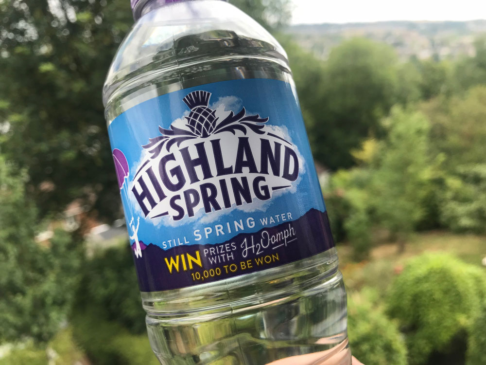 Highland Spring on-pack promotion branded misleading by ASA