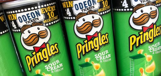 Win Odeon tickets with Pringles