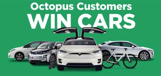 Win four electric cars with Octopus Energy!