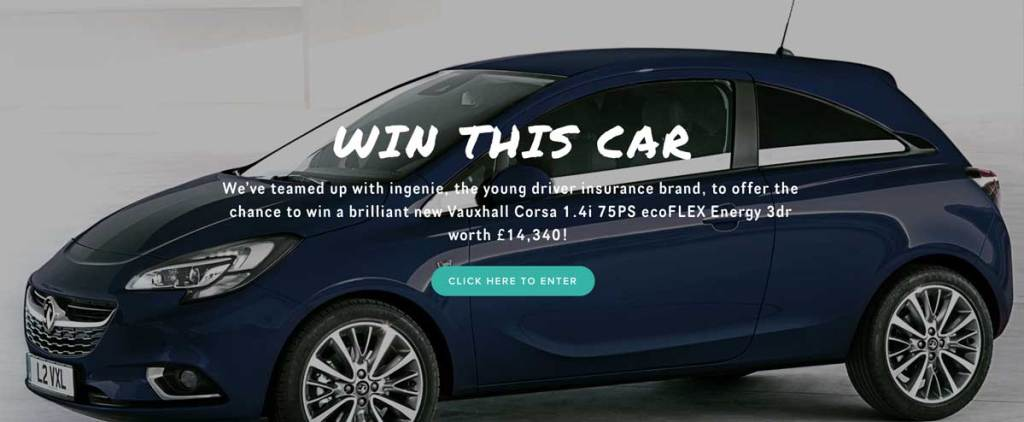 Win a Car competitions