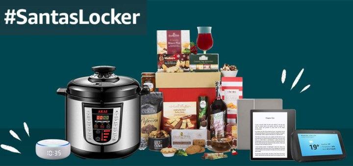 Win prizes with Amazon Santa's Locker!