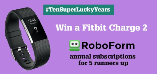 Celebrating ten years of SuperLucky - win a Fitbit Charge!
