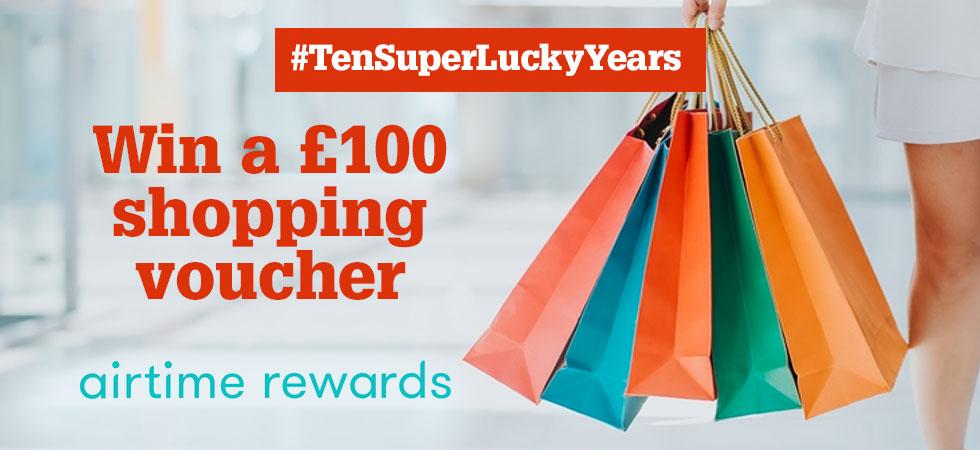 Win a £100 shopping voucher