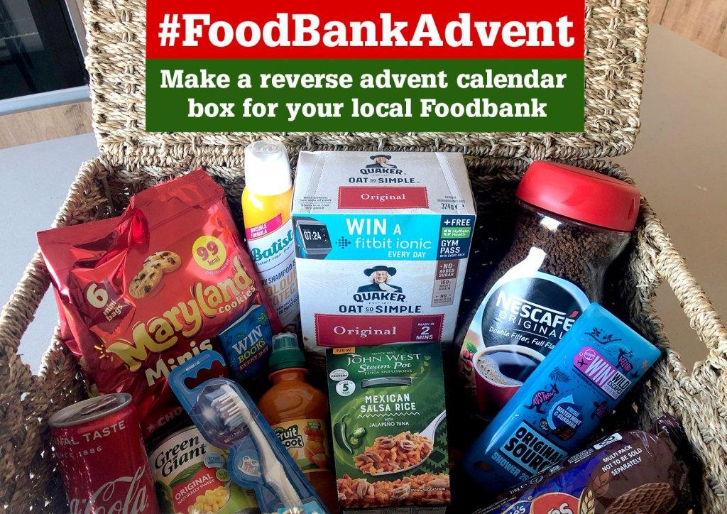 #FoodbankAdvent Campaign 2019