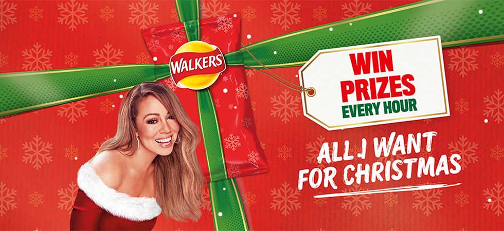 Win thousands of prizes with Walkers Crisps this Christmas!