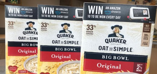 Quaker Oat So Simple Win every day