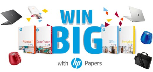 Win BIG with HP Papers