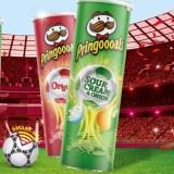 Pringles Win Football Prizes