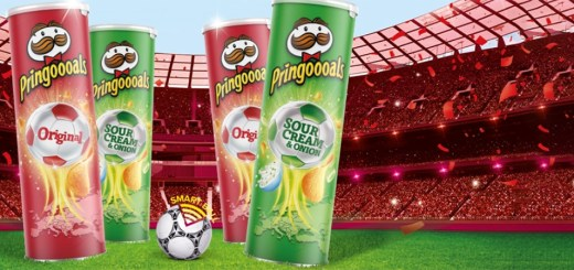Pringles Win Football Prizes