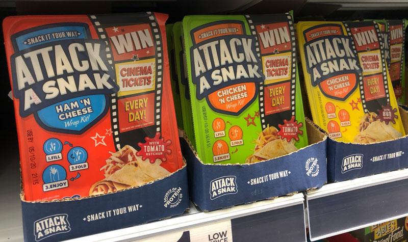 Attack A Snak Cineworld promotion