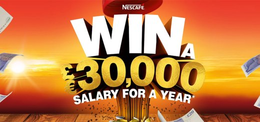 Nescafé Win a £30,000 salary