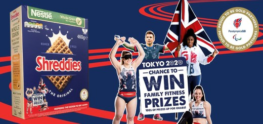 Nestle ParalympicsGB 2020 promotions