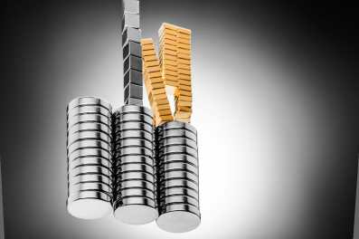 Supermagnete in verschiedenen Ausführungen