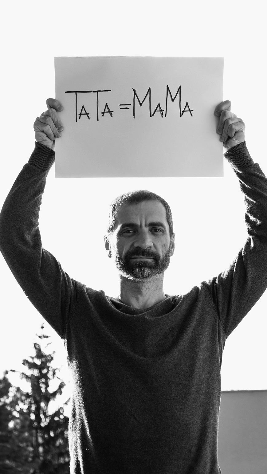 tata jednako mama, Davor Karmišević