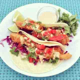 Unforgettable Fish Tacos with Chipotle Mayo