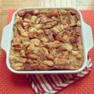 Bananas Over Bread Pudding!!