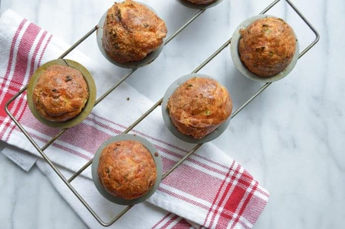 Cheddar and Herb Popovers
