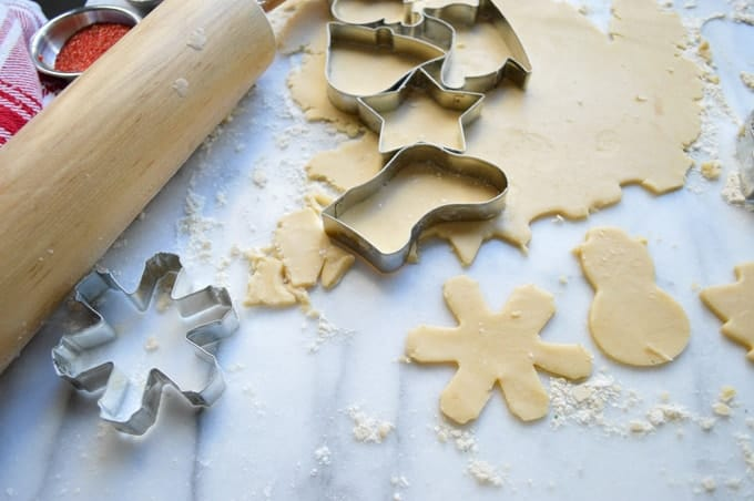 Teekuchen Cut-Out Cookies