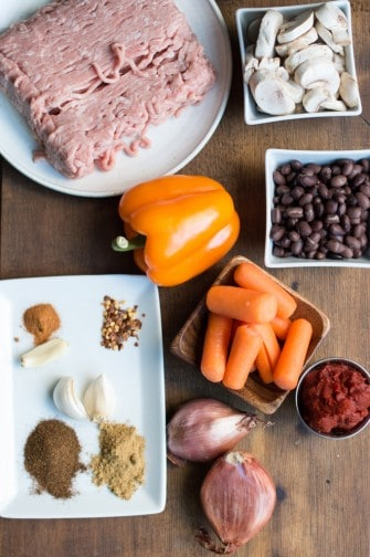 southwestern turkey chili   superman cooks