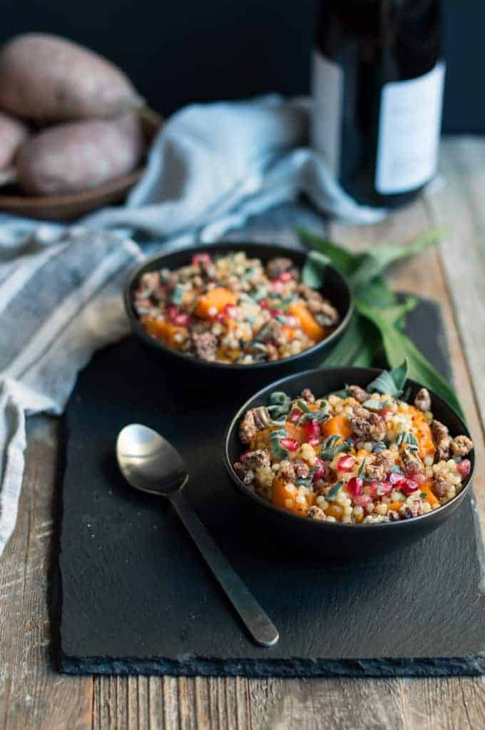 autumn harvest couscous | superman cooks